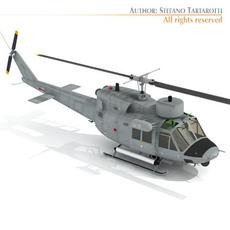 B 212 ASW Navy 3D Model