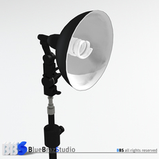 Fluorescent light 3D Model