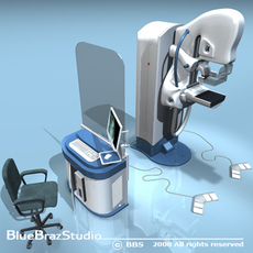 Mammography Equipment 3D Model