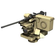 RWS Kongsberg Protector M151 - M2 3D Model