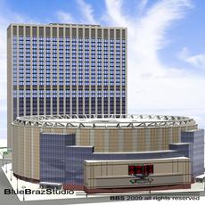 Madison Square Garden 2 3D Model
