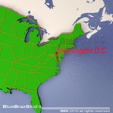 Washington DC 3D Model