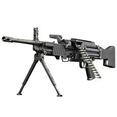 MG4 Light Machinegun  3D Model