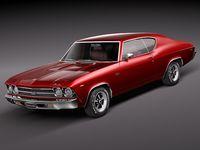 Chevrolet Chevelle SS 1969 3D Model