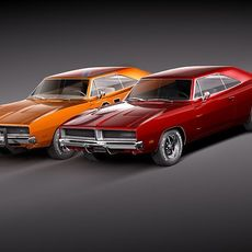 Dodge Charger 1969 RT - General Lee 3D Model