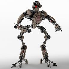 Robot TR2102 3D Model