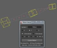 Ribbon for 2011 for Maya 1.0.0 (maya script)