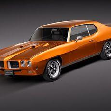 Pontiac GTO 1970 3D Model