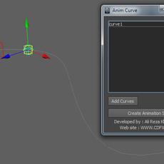 Curve Anim 2011 for Maya 1.5.0 (maya script)