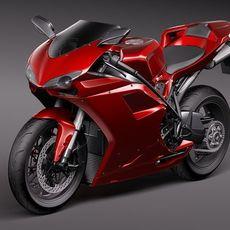 Ducati 1198 3D Model