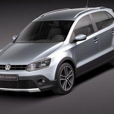 Volkswagen CrossPolo 2011 3D Model