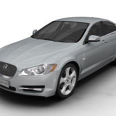 2008 Jaguar XF 3D Model
