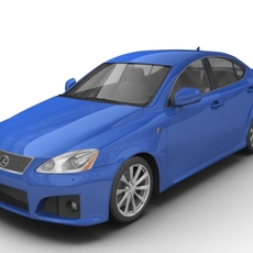 2007 Lexus IS-F  3D Model