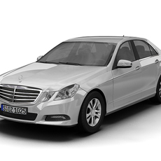 2010 Mercedes Benz E-Class 3D Model