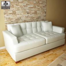 Ashley Zia - Spa Sofa 3D Model