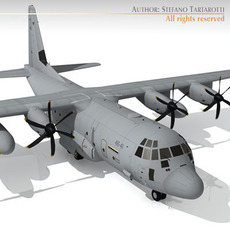 C-130 j 3D Model
