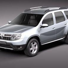 Dacia Duster 2010 3D Model