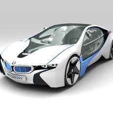 BMW Vision Efficient Dynamics 3D Model