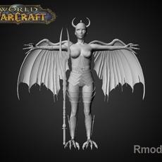 Gorgulya Lia 3D Model