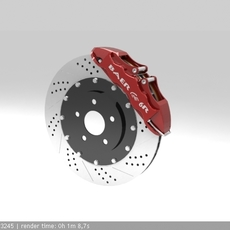 Baer 6R Brake System 3D Model