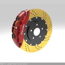 Brembo Brake 1 3D Model