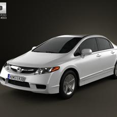 Honda Civic Sedan 2009 3D Model