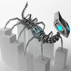 Robot B78e100 3D Model