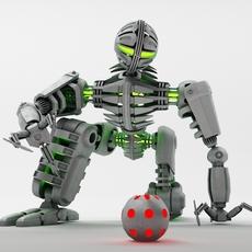 Robot Min100 3D Model