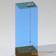 Lower marine riser package cap 3D Model