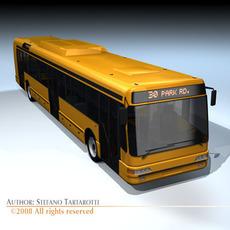 City bus 2 3D Model