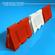 Road barrier plastic 3D Model
