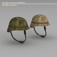 Army helmet 3D Model