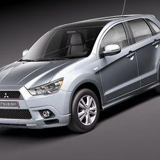 Mitsubishi Outlander sport - RVR - ASX 3D Model