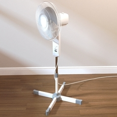 Freestanding Fan 3D Model