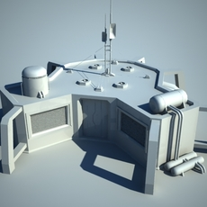 sci-fi house 3D Model