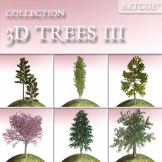 tree collection 03 3D Model