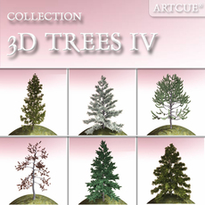 tree collection 04 3D Model