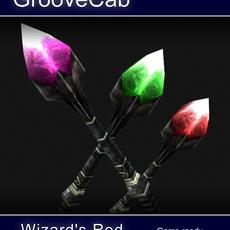 Wizard's Rod 3D Model
