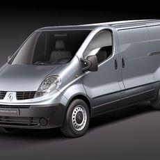 Renault Trafic 2010 3D Model