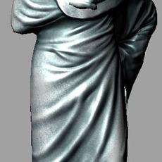 roman statue male 3D Model