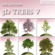 tree collection 05 3D Model