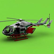 EC-145/BK-117 3D Model