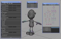 Automatic Rigging System written in MEL for Maya 0.2.8 (maya script)