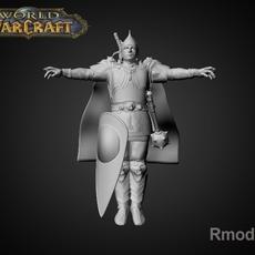 Russian Bogatur Dobrunya 3D Model