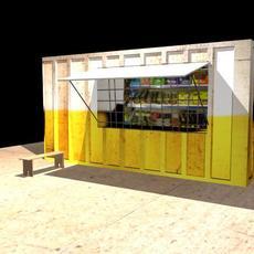 Local Shop 3D Model