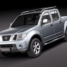 Nissan Navara 2010 3D Model