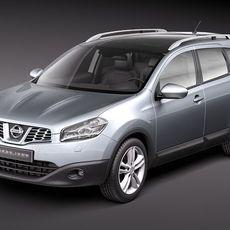 Nissan Qashqai +2 2011 3D Model