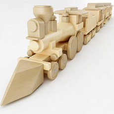 'The General' Toy Train 3D Model