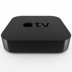 Apple TV 2nd Generation 3D Model