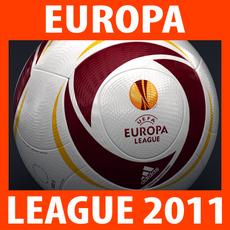 2010 2011 UEFA Europa League Match Ball 3D Model
